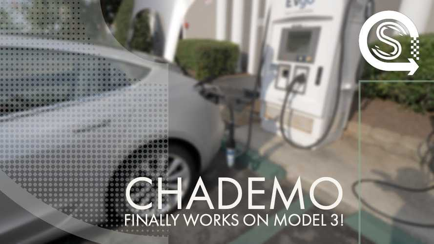 Is The Model 3 Already Able To Use A CHAdeMO Charger?