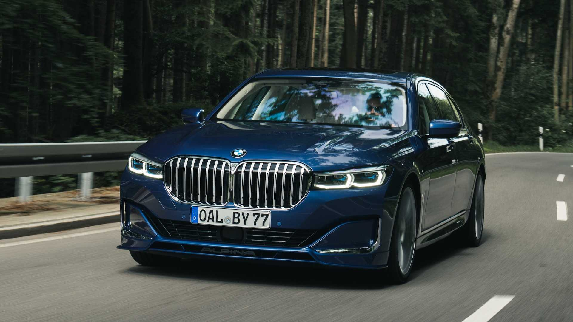 2021 Bmw Alpina B7 Xdrive - Car Wallpaper