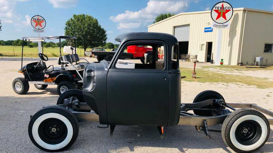 Project 1953 Chevrolet 3100 Is A Blank Canvas