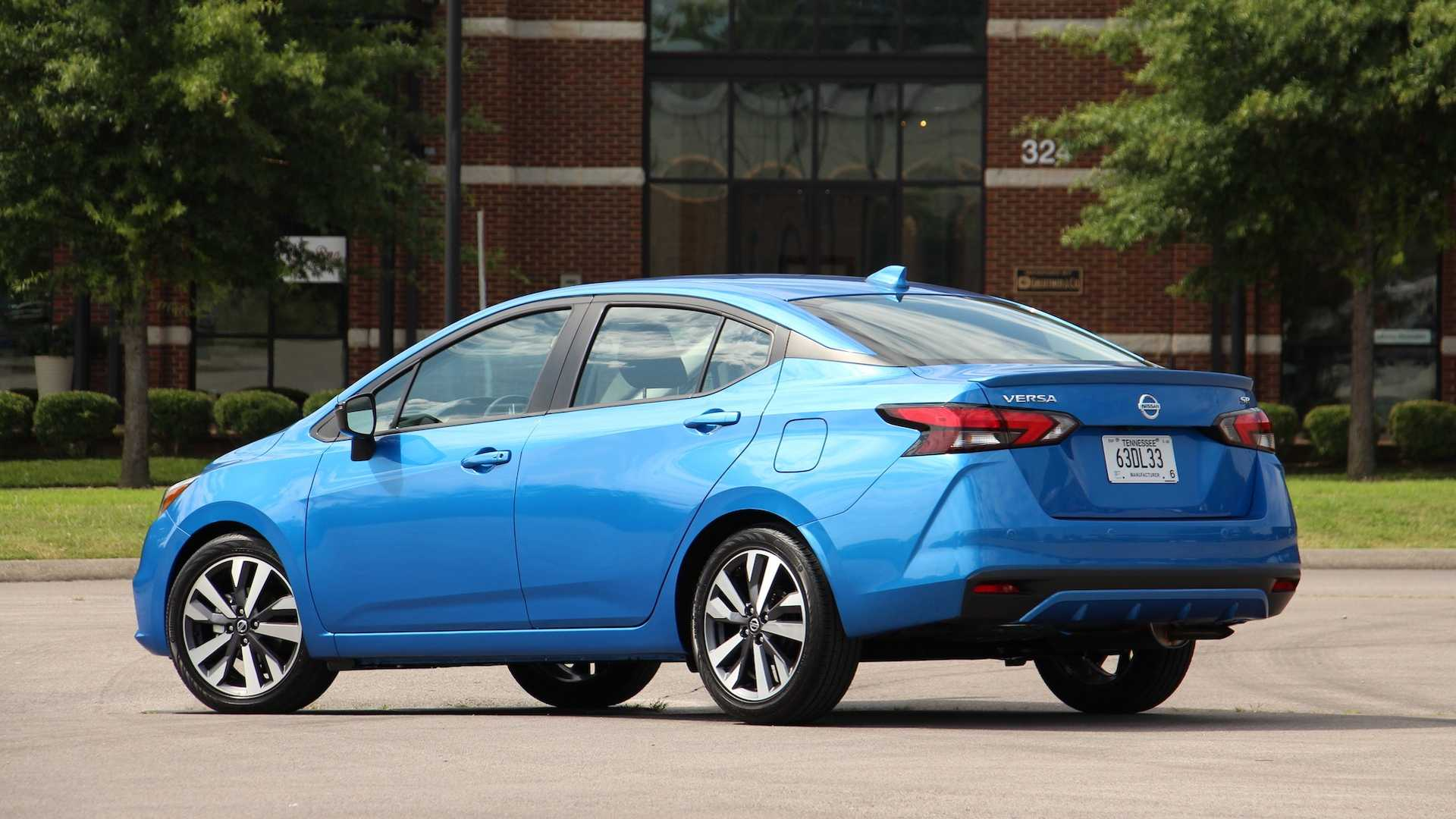 2020 Nissan Versa First Drive Safety First