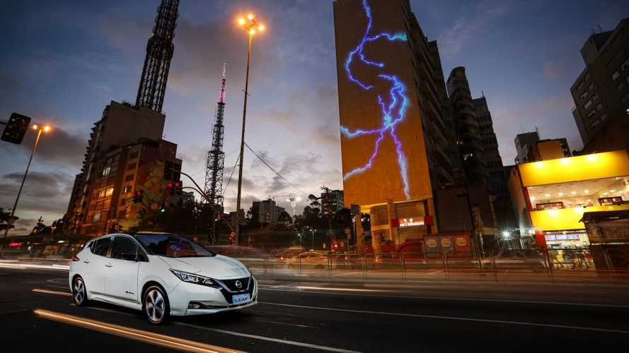 Nissan Finally Sells The LEAF In Brazil: For US  $52,400