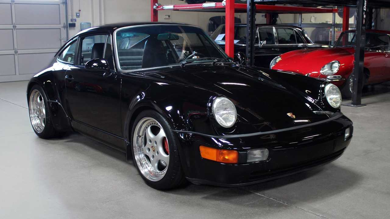 Super Rare 1994 Porsche 911 Carrera 4 Widebody For Sale