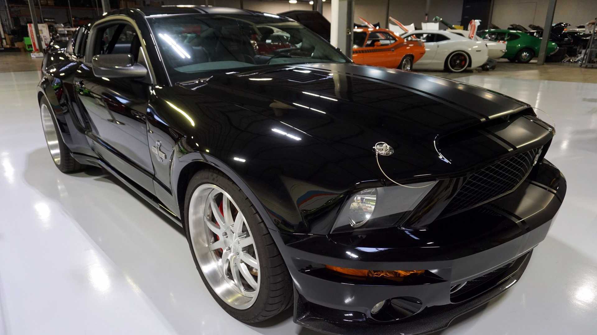 "[""2007 Ford Mustang Super Snake Will Add Bite To Any Collection""]"
