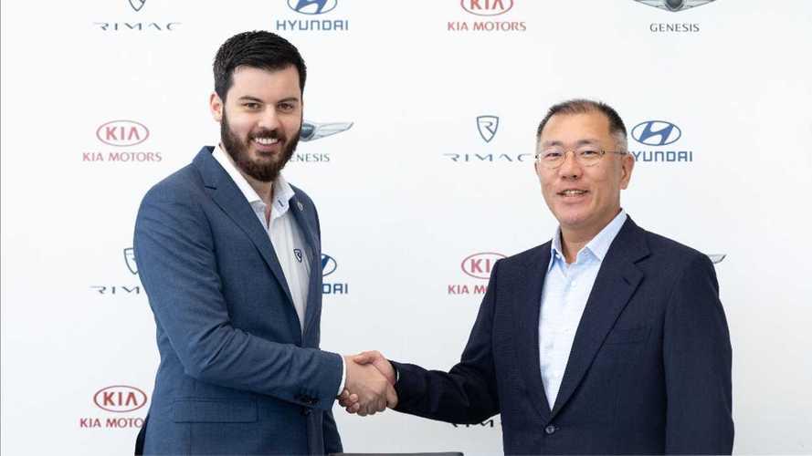 Hyundai, Kia Start Strategic Partnership Rimac Automobili