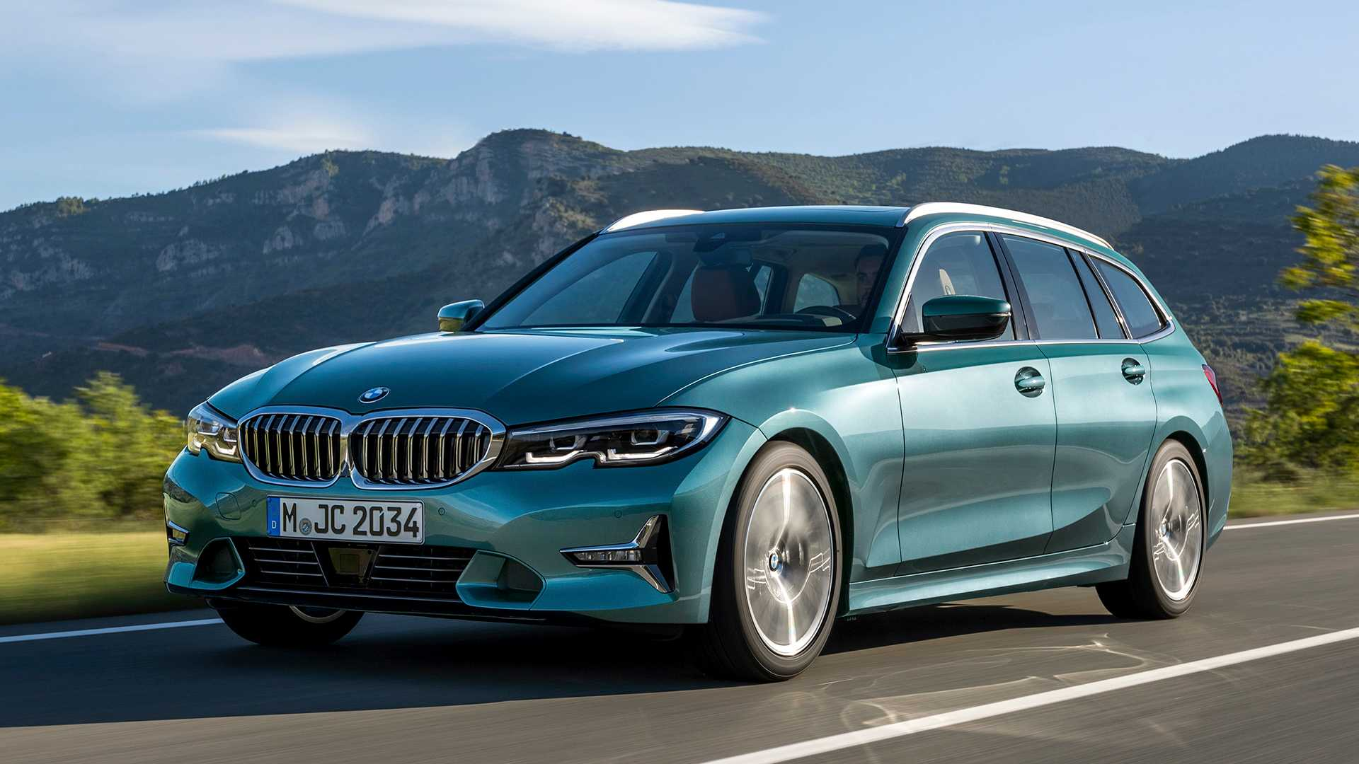 Bmw 3 Series Touring 2020 Hybrid