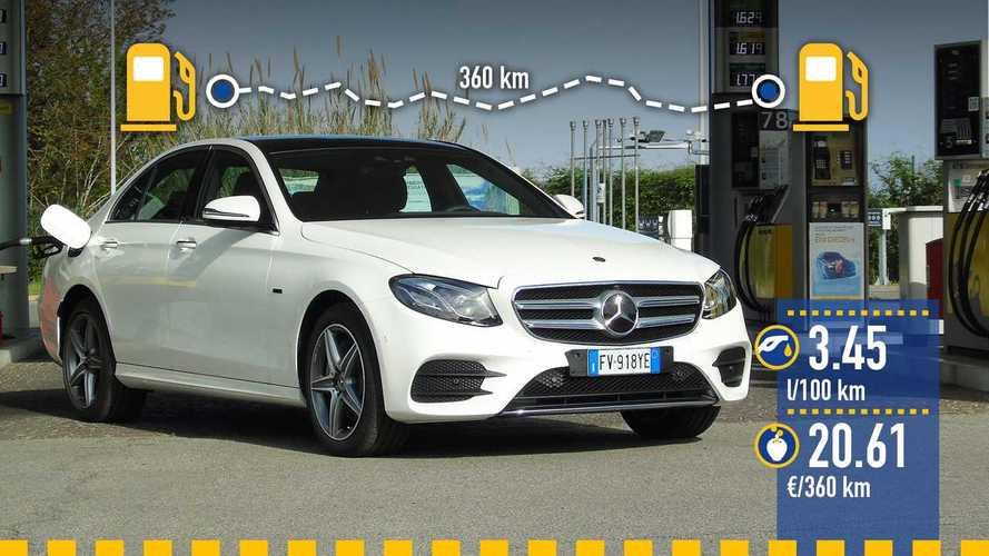Mercedes E 300 e EQ Power, le test de consommation réelle