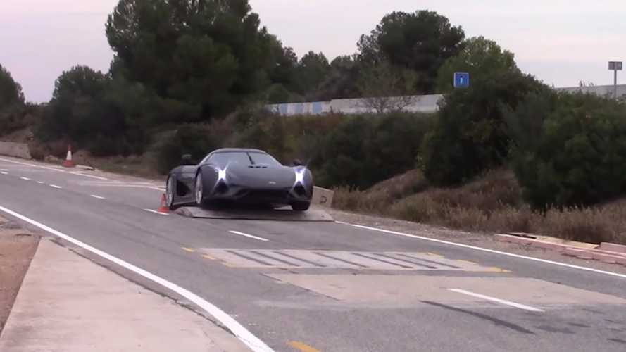 Koenigsegg Crash Testing