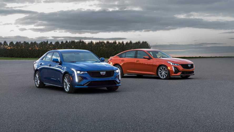 Cadillac CT4-V und CT5-V: Neue Sport-Limousinen