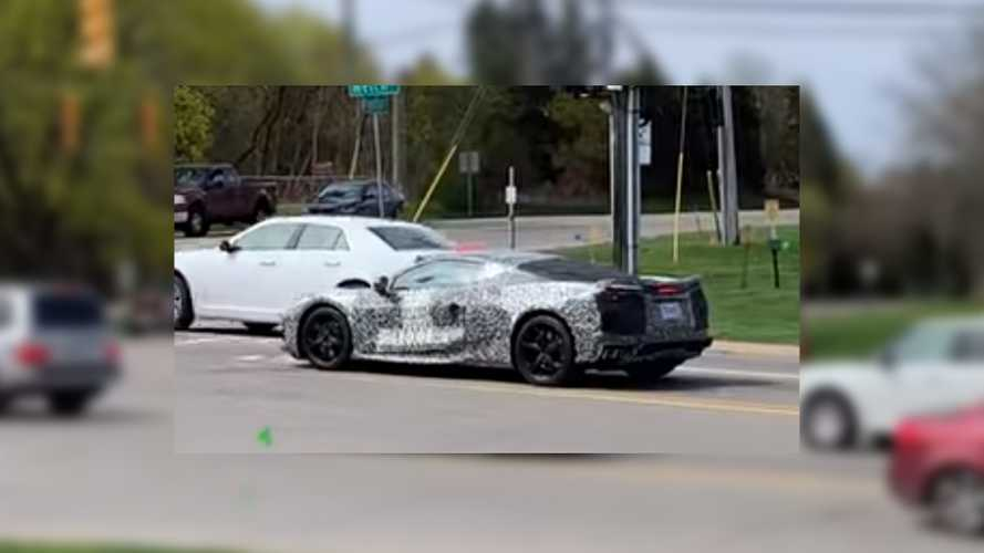 C8 Chevrolet Corvette Prototype Spotted Looking Like 'A Ferrari'