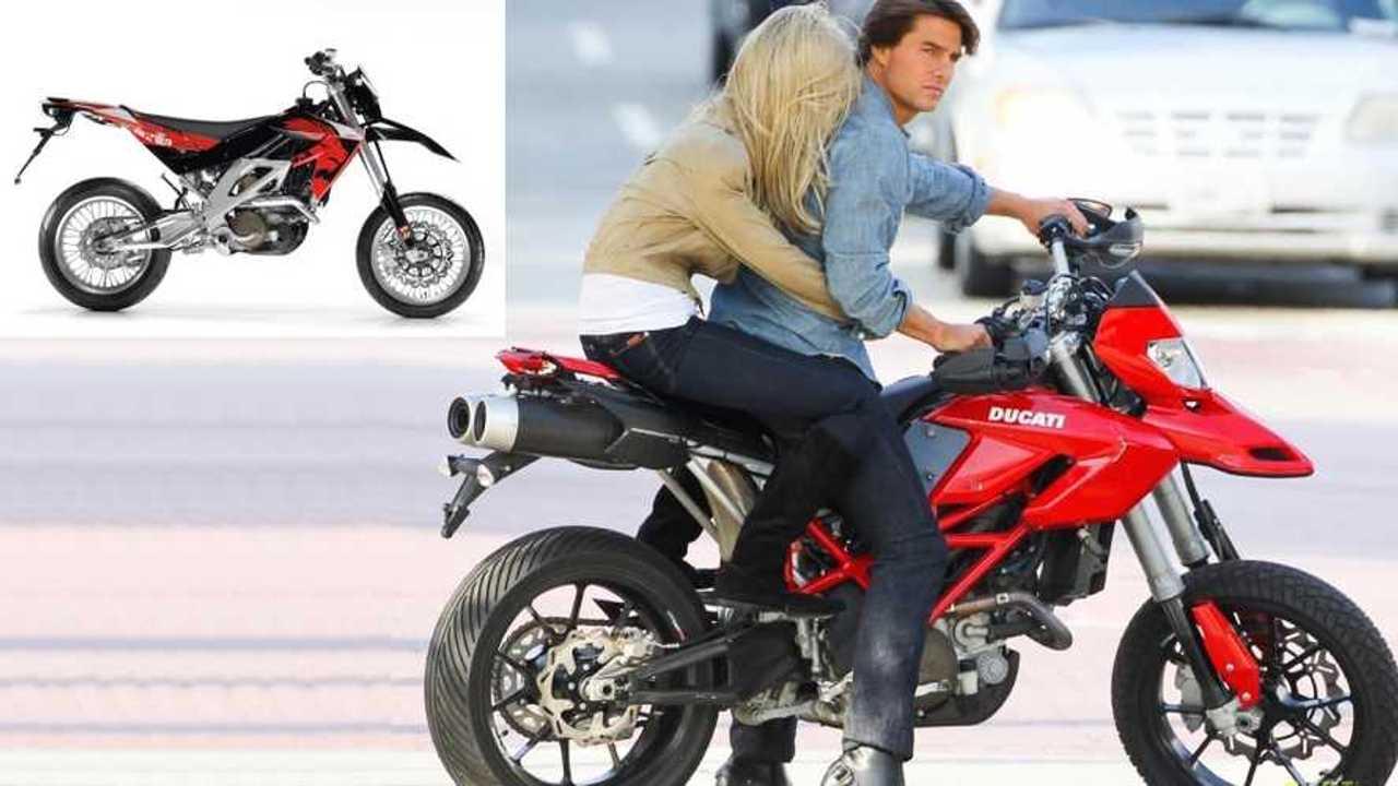 Tom Cruise Fake Ducati
