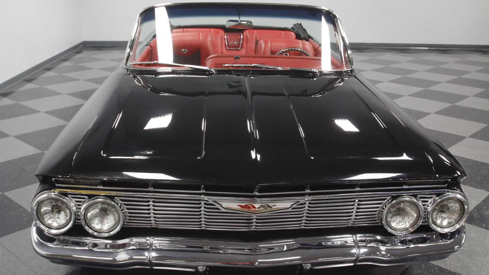"[""Blow Everyone Away In A 1961 Chevrolet Impala Restomod""]"