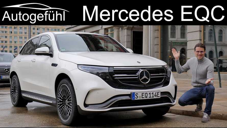 Mercedes-Benz EQC Review By Autogefühl, Carwow And Others: Videos