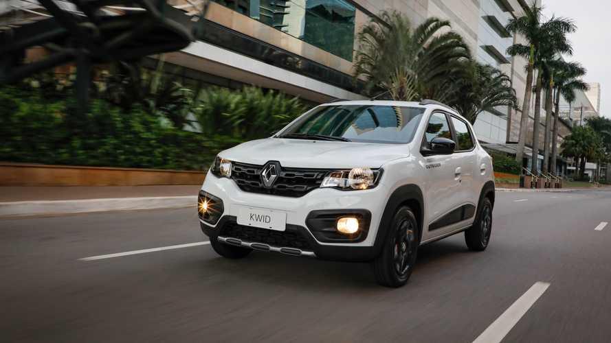 Vídeo: Novo Renault Kwid Outsider estreia por R$ 43.990