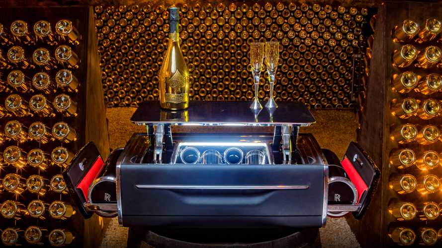 Rolls-Royce champagne chest is only £37,000