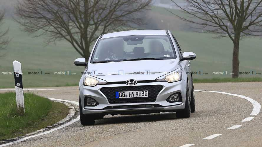 Hyundai i20 N test photos espion