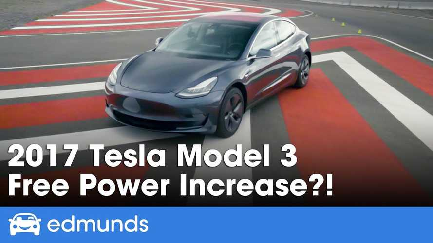 Tesla Model 3 Gets Free Power Boost: Edmunds Tests It Out