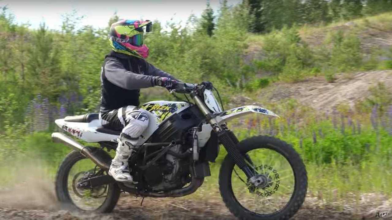 Stunt Freaks Suzuki GSX-R1000 Motocross Conversion 392 of