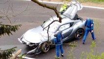 Toyota Supra (2019): Unfall auf dem Nürburgring