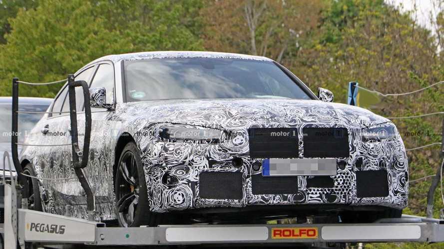 La future BMW M3, prévue pour 2020, encore aperçue