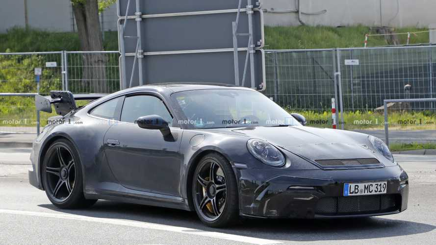 Porsche 911 GT3 2020 neue Erlkönigbilder