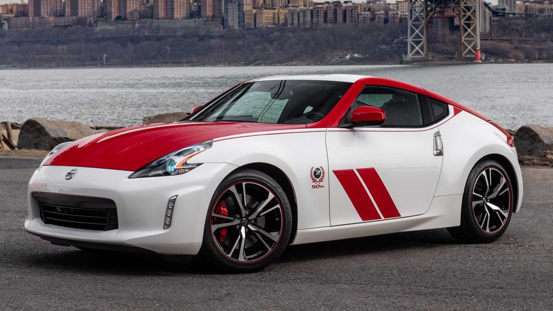 "[""Nissan Celebrate 50 Years Of The Z Sports Car""]"