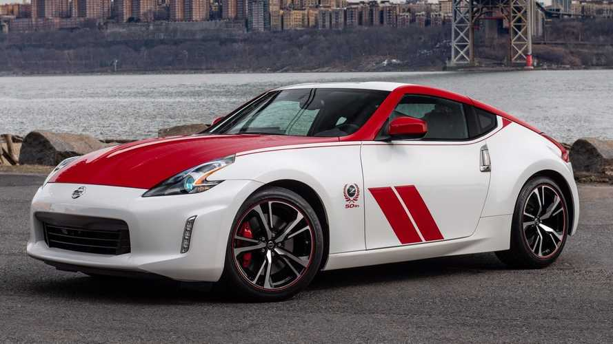 Nissan Celebrate 50 Years Of The Z Sports Car