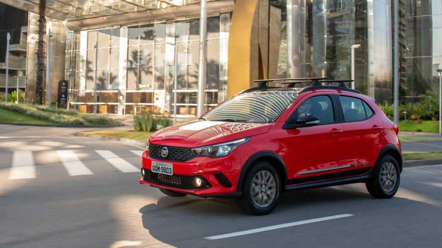 Hatches compactos em junho: Fiat Argo atinge recorde