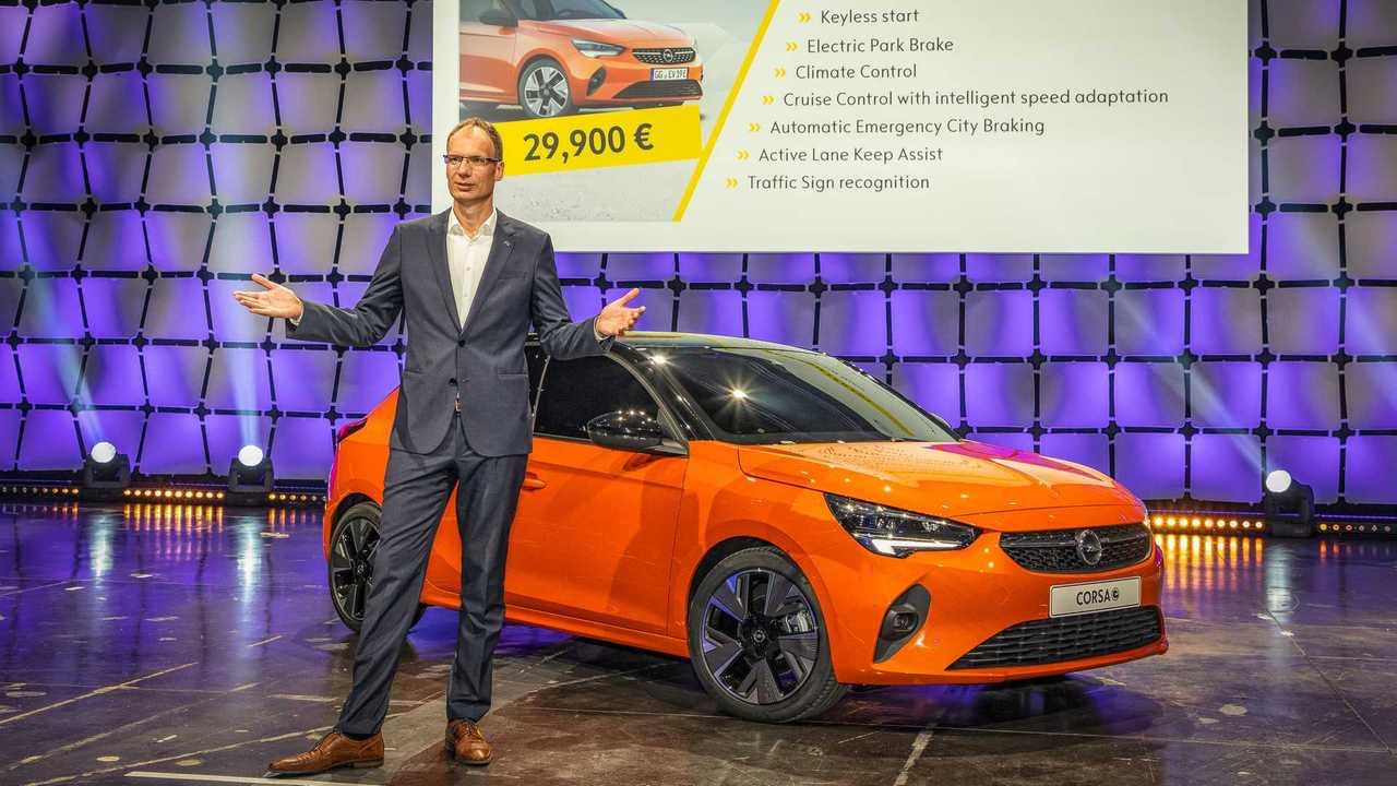 Opel Corsa-e (2019) Preis