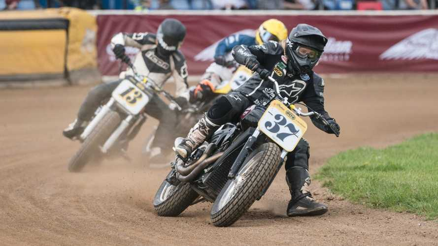 Indian Motorcycle porta il flat track in Svizzera