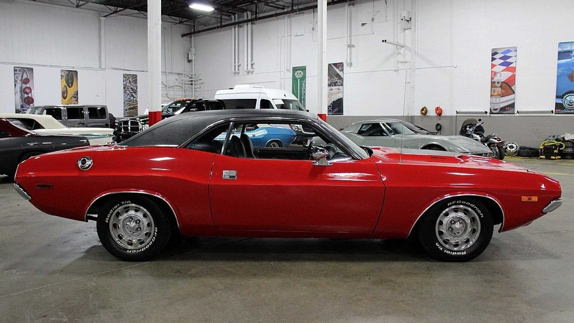 "[""Rally Red 1972 Dodge Challenger Shows Off Its Muscles""]"