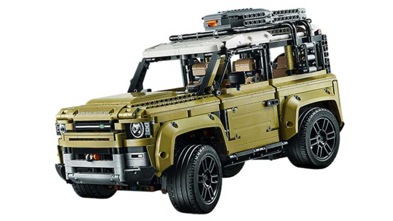 Land Rover Defender en Lego Technic