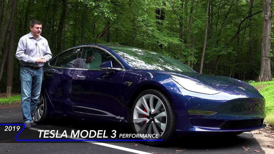 Tesla Model 3 Tested: Handling Gets A+, Ride & Noise Rank Low: Video