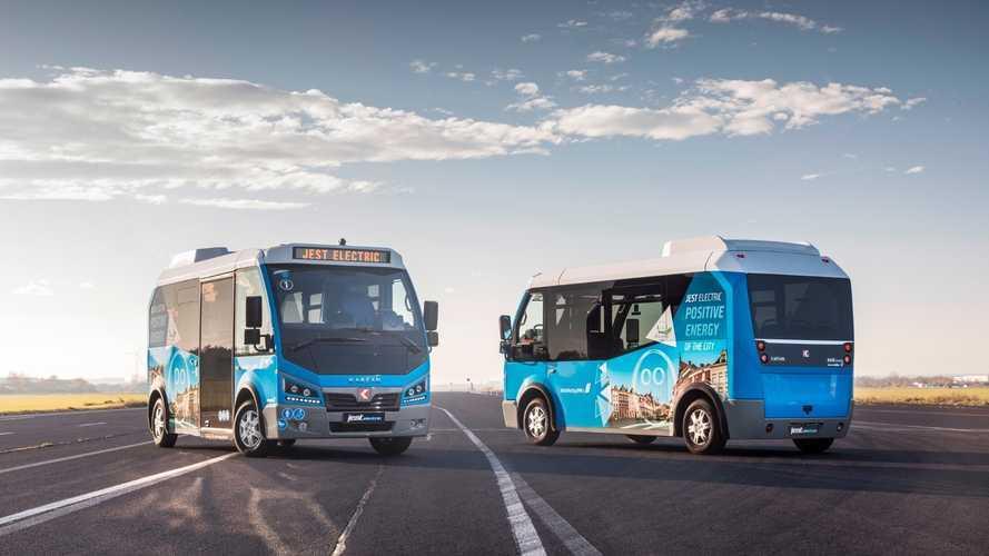 Karsan'nın elektrikli minibüsleri Avrupa yollarına çıktı