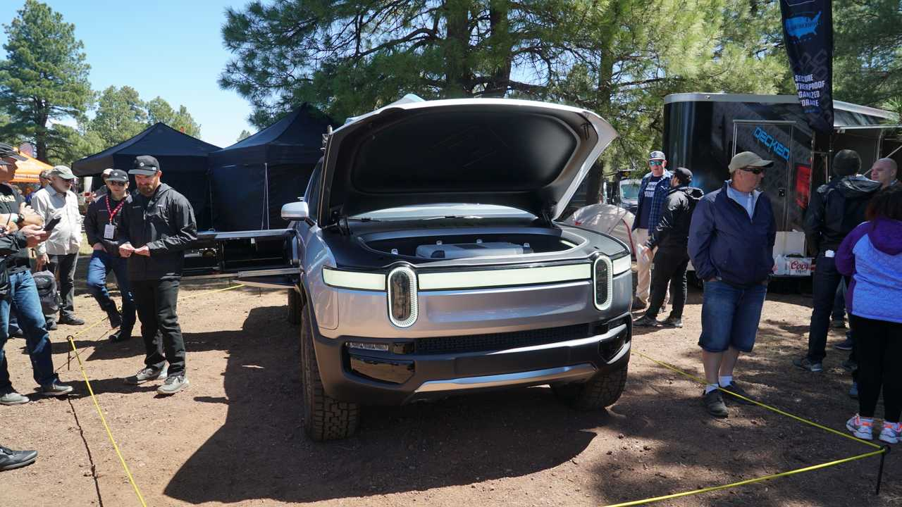 Check Out Live Images Of Overland Ready Rivian R1t Pickup