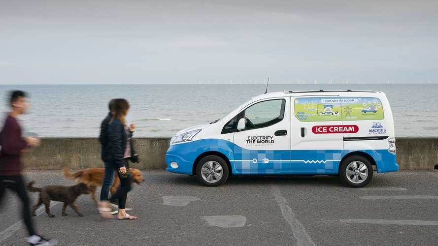 Nissan e-NV200, Ice cream food truck
