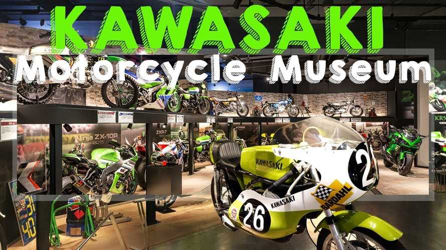 Come With Us On A Tour Of The Kawasaki Good Times Motorcycle Museum