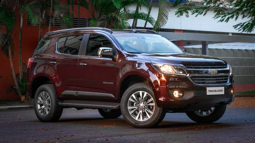 Chevrolet Trailblazer perde versão 3.6 V6 a gasolina de 277 cv