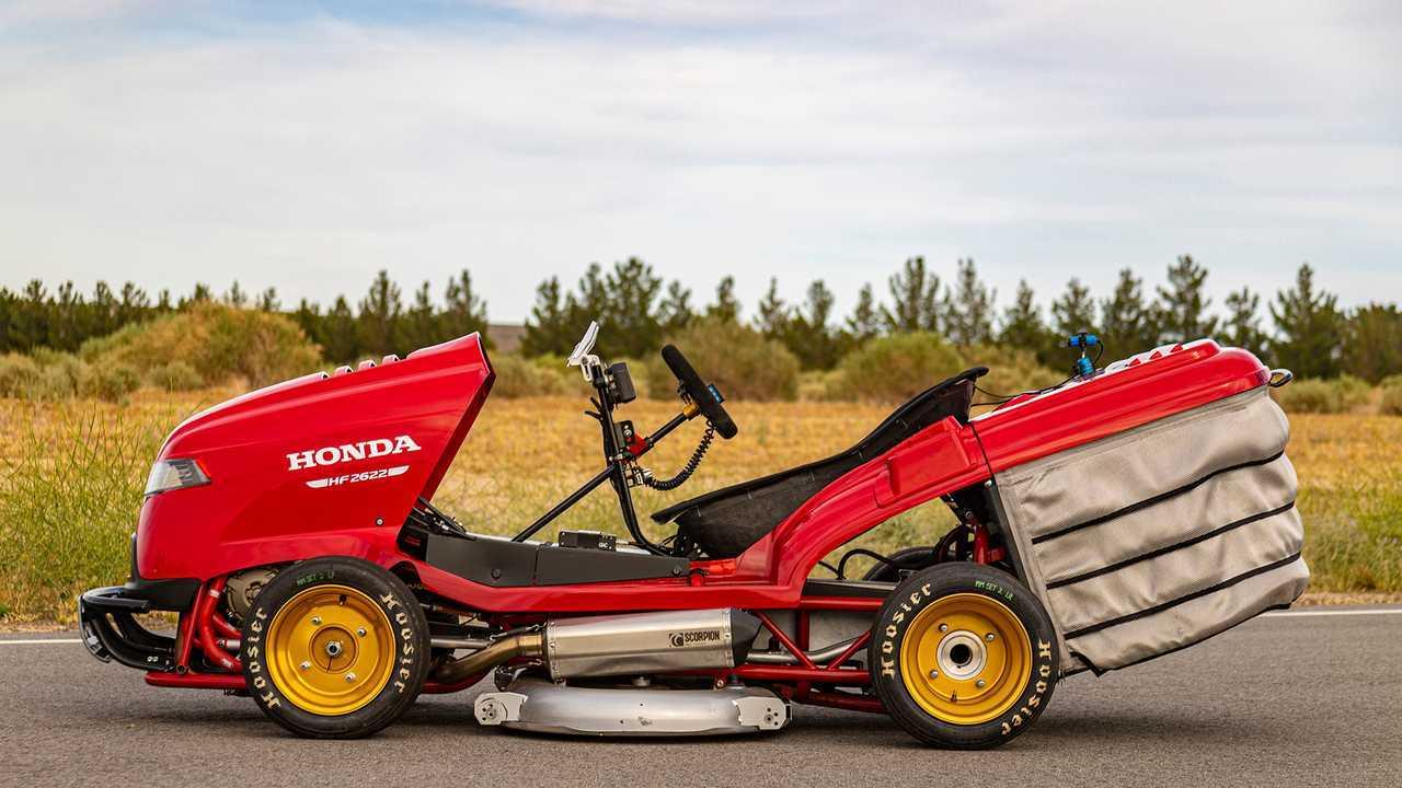 Honda Mean Mower V2 First Drive: Hauling Grass