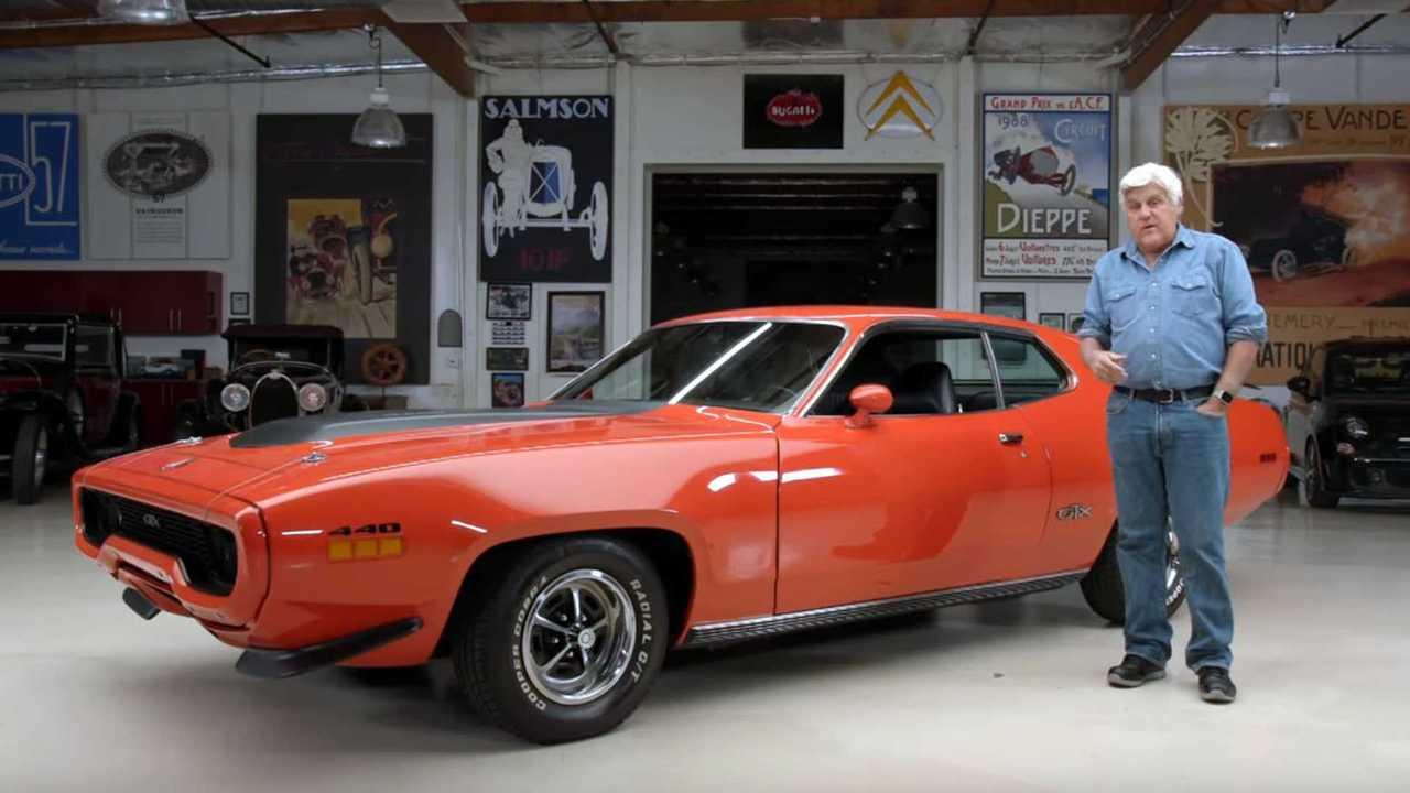1971 Plymouth GTX Visits Jay Leno\'s Garage