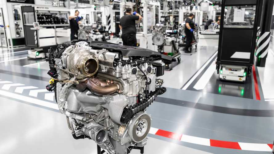 How it's made: 20 minutes with the 416-bhp AMG 4-cylinder