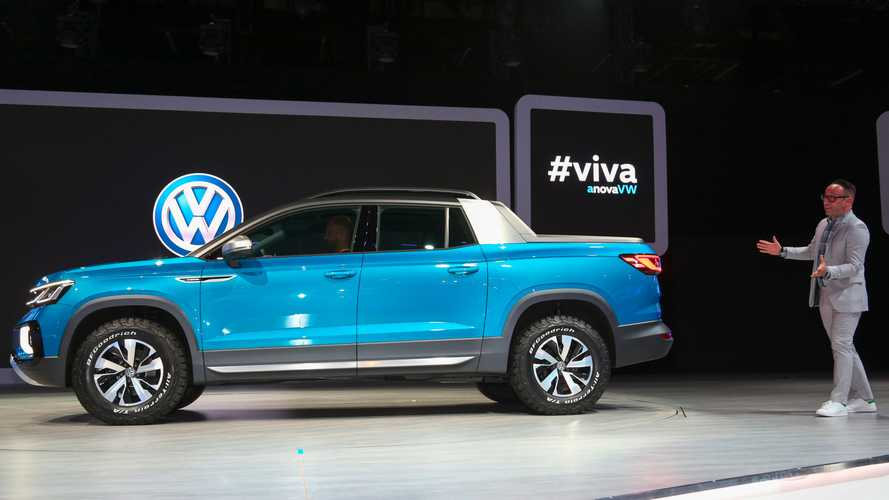 If Volkswagen Makes A Pickup Truck It Will Be Compact And Electric