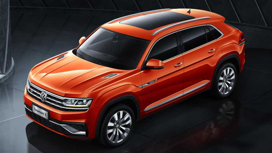 VW Teramont X is a coupe-SUV only for China, at least for now