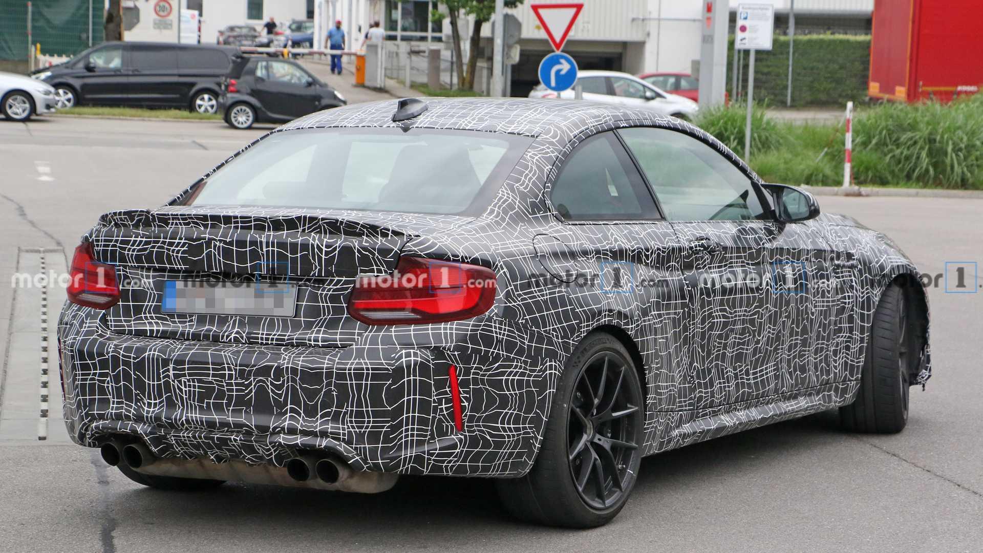 2016 - [BMW] M2 [F87] - Page 11 2020-bmw-m2-cs-spy-photo