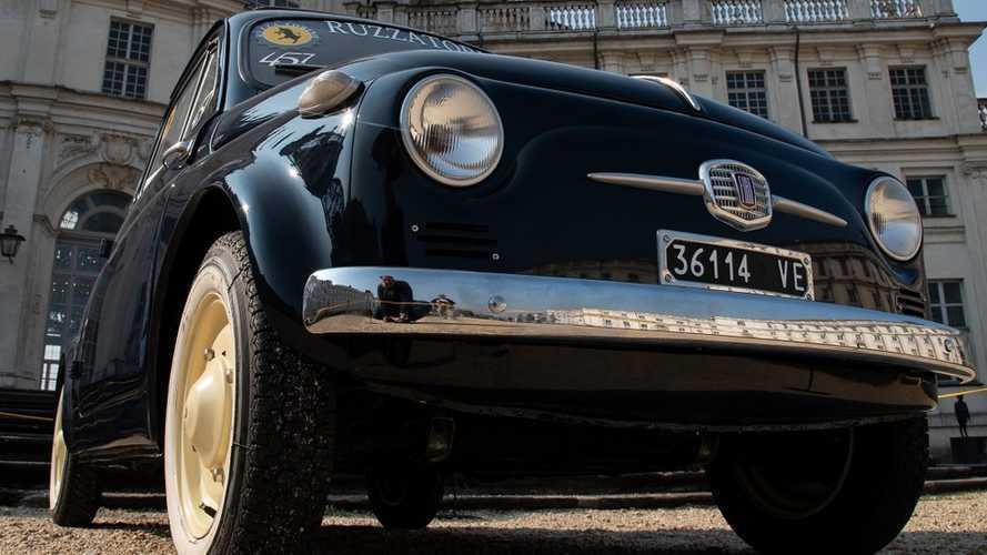 La Fiat 500 e la sua storia sfilano al Parco Valentino