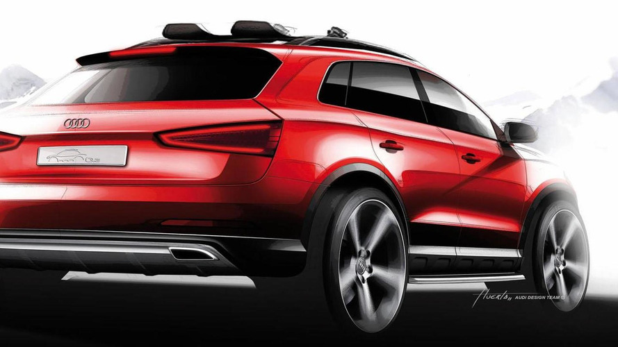 Audi Q3 Vail concept skis into Detroit [video]