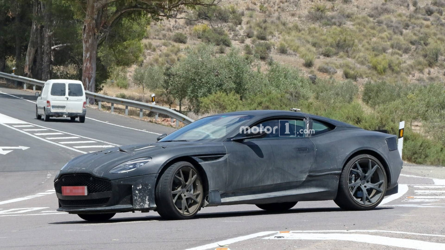 Aston Martin DBS Superleggera Spied Up Close [UPDATE]