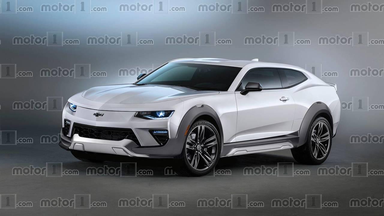 Chevrolet Camaro crossover render