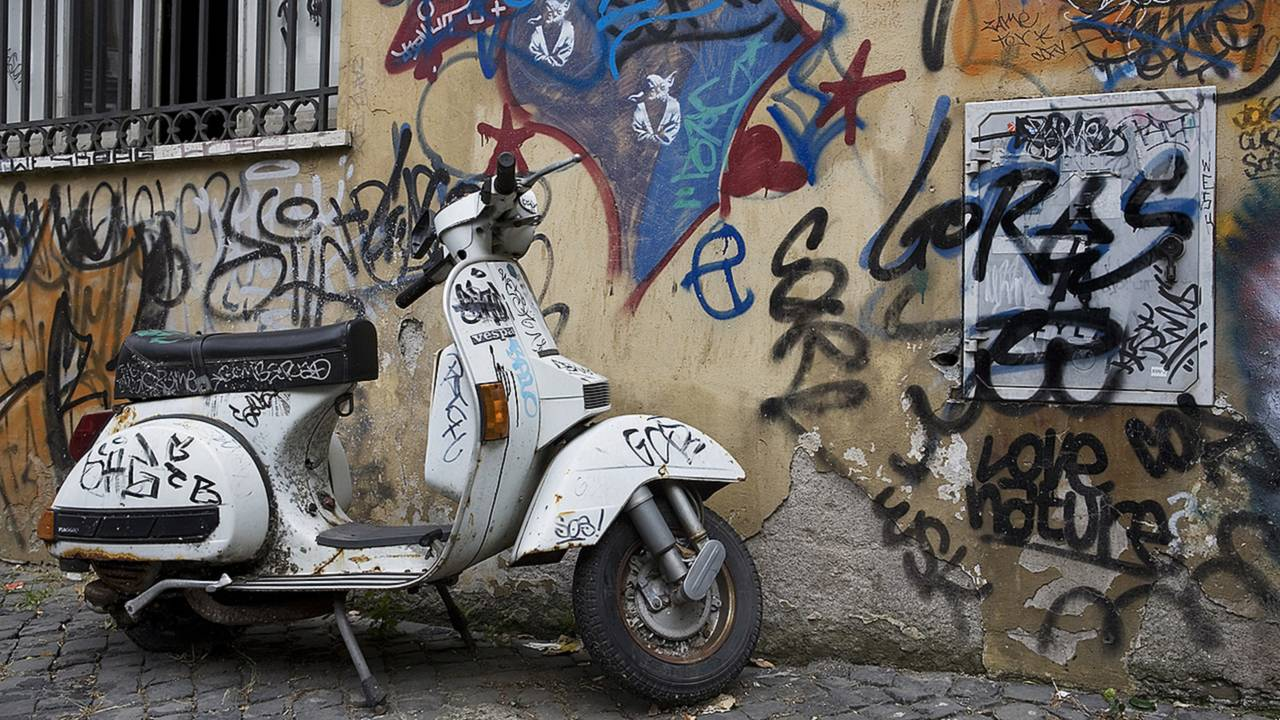 On Riding In Rome