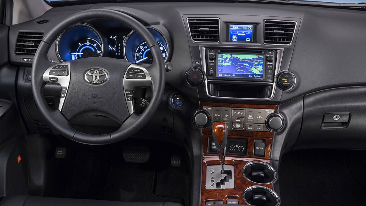review 2013 toyota highlander limited v6. Black Bedroom Furniture Sets. Home Design Ideas