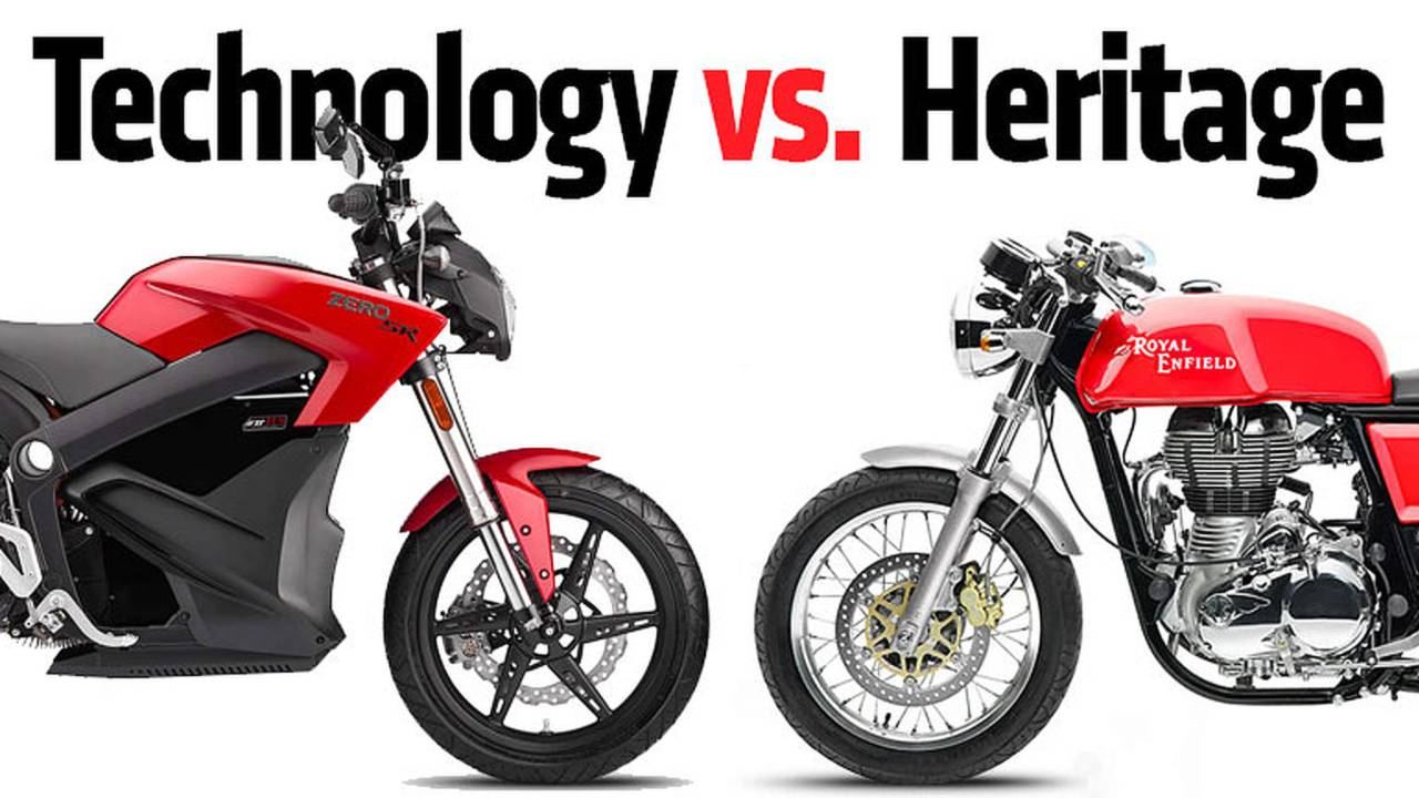 Technology vs Heritage - Zero Electric vs Royal Enfield Combustion